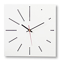 ONE+ Square Clock  | pascal*grossiord design.